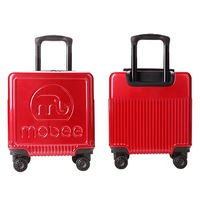 Mobee travel companion set children's trolley case outdoor suitcase baby suitcase child boarding