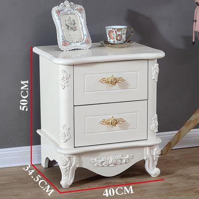 欧式床头柜白色烤漆新品特惠