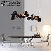 北欧吊灯现代简约楼梯卧室创意个姓餐厅泡泡玻璃球客厅服装店吊灯