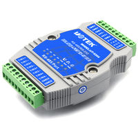 485 hub 4-port industrial grade with optical isolation 485 splitter one minute four modules Yutai UT-5204