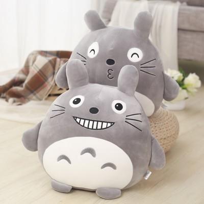 龙猫抱枕公仔毛绒玩具女生抱着睡觉娃娃可爱韩国搞怪懒人超萌女孩