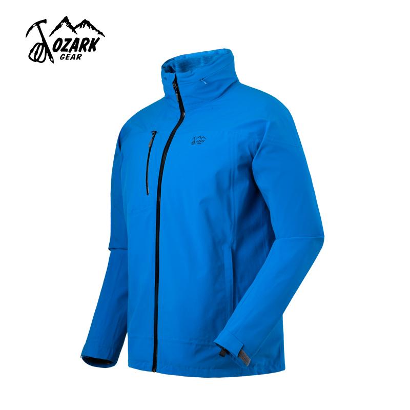 OZARK/奥索卡户外三合一冲锋衣男士保暖可拆卸两件套防寒服135265
