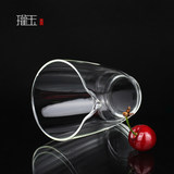 Guan yu high borosilicate high-temperature heat resisting Japanese public justice glass cup small tea tea is thickening