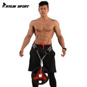 负重腰带粗铁链练背引体向上承重腰带家用健身肌肉力量训练腰带