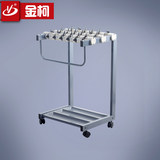 New 18-head umbrella stand Office building with lock umbrella stand Hotel lobby hanging umbrella stand Hanging umbrella stand umbrella bucket