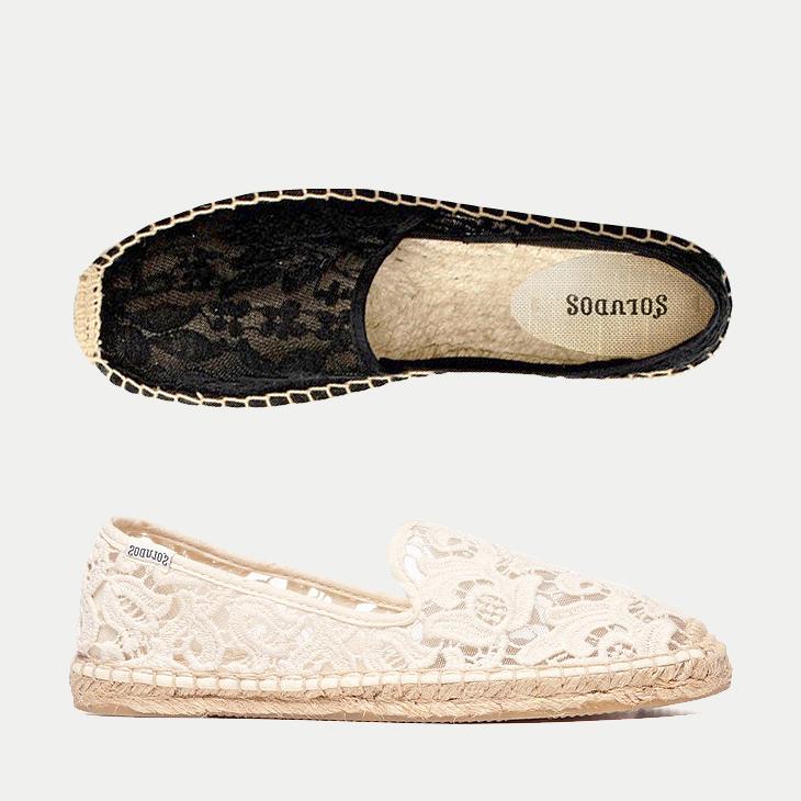 钩花蕾丝鞋
