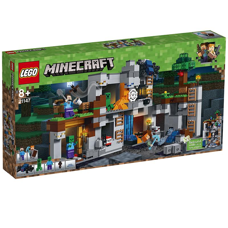 乐高 我的世界系列 21147岩底大冒险 LEGO MINECRAFT