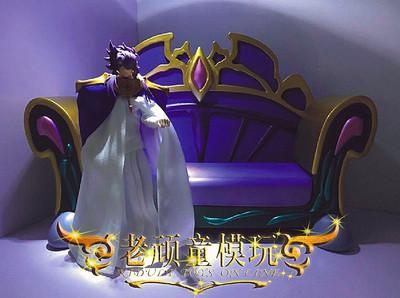 现货 黄金魂 圣斗士模型 圣衣神话EX 邪神 安德烈 洛基 便服 宝座