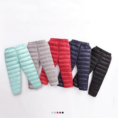 新款冬装儿童羽绒裤男童女童内胆宝宝婴幼儿内外穿保暖可开档加厚