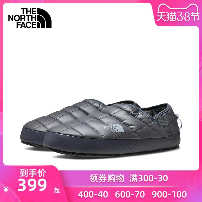 TheNorthFace北面男鞋2020春季新款户外保暖一脚穿懒人鞋棉鞋3UZN