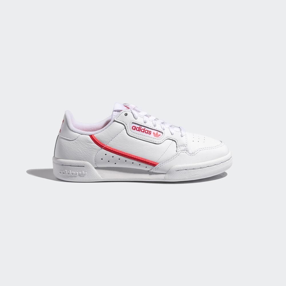 阿迪达斯三叶草女鞋2019秋季新款粉色低帮运动鞋白色休闲鞋EE5562