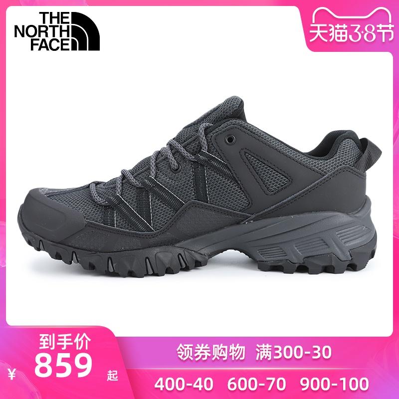 北面越野鞋男鞋2020春季新款户外运动鞋缓震徒步鞋耐磨登山鞋46CJ