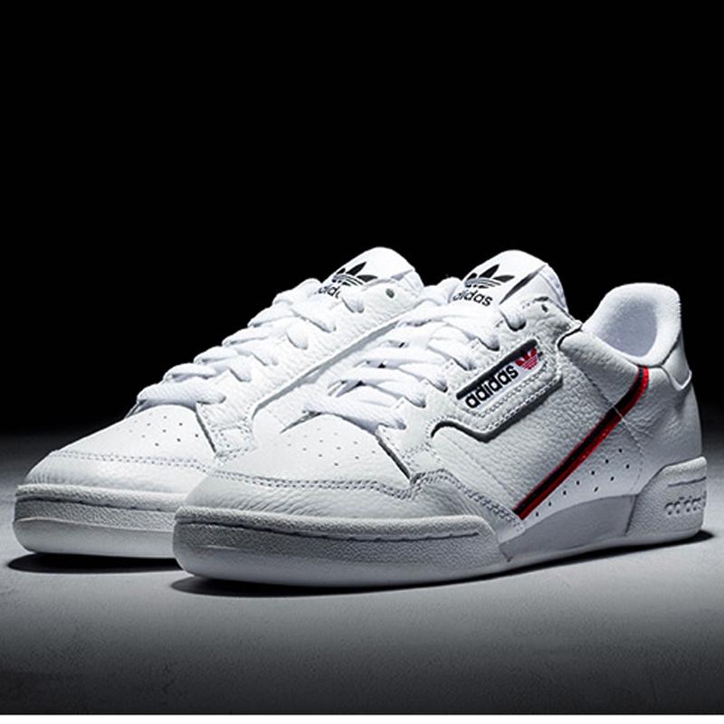 阿迪达斯三叶草男鞋2019冬季新款白色运动鞋复古休闲鞋板鞋G27707