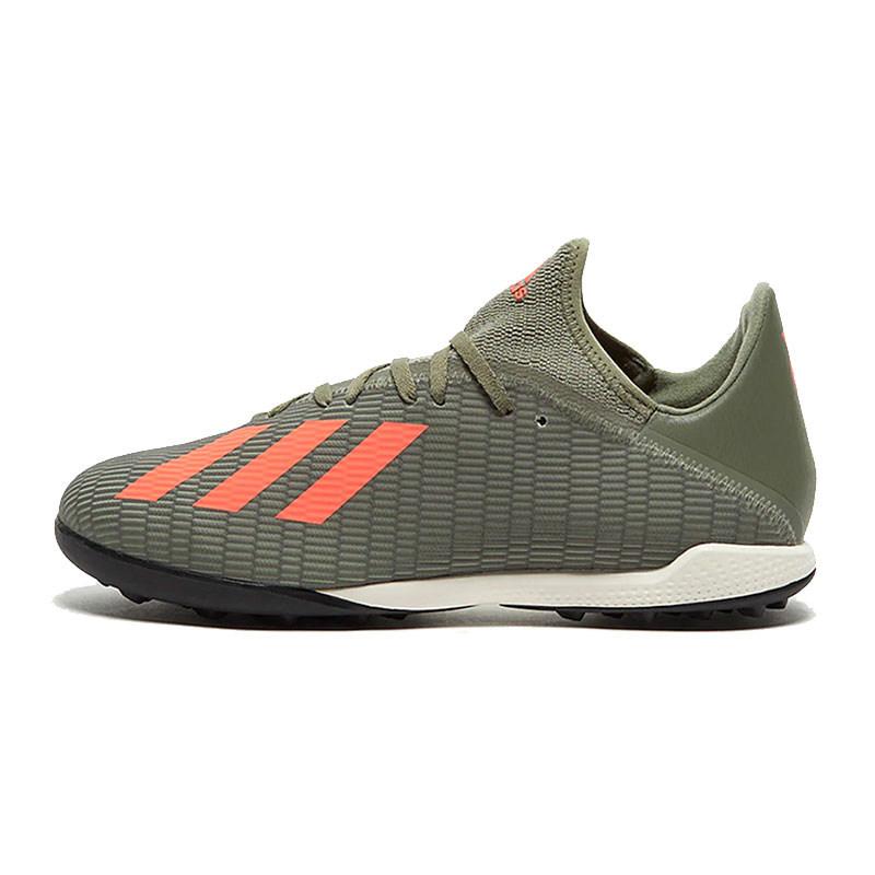 Adidas阿迪达斯男鞋2019冬季新款运动鞋X19.3 TF碎钉足球鞋EF8366