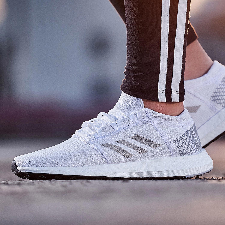Adidas/阿迪达斯男鞋Pure boost爆米花运动鞋减震跑步鞋AH2311