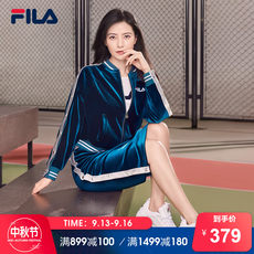 FILA Fila short skirt female high round with the same paragraph autumn new casual sports skirt ladies half-length skirt women's clothing