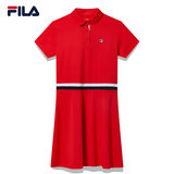 FILA Philae Tennis Women's 2019 new simple elegant sports casual dress F11W837311F