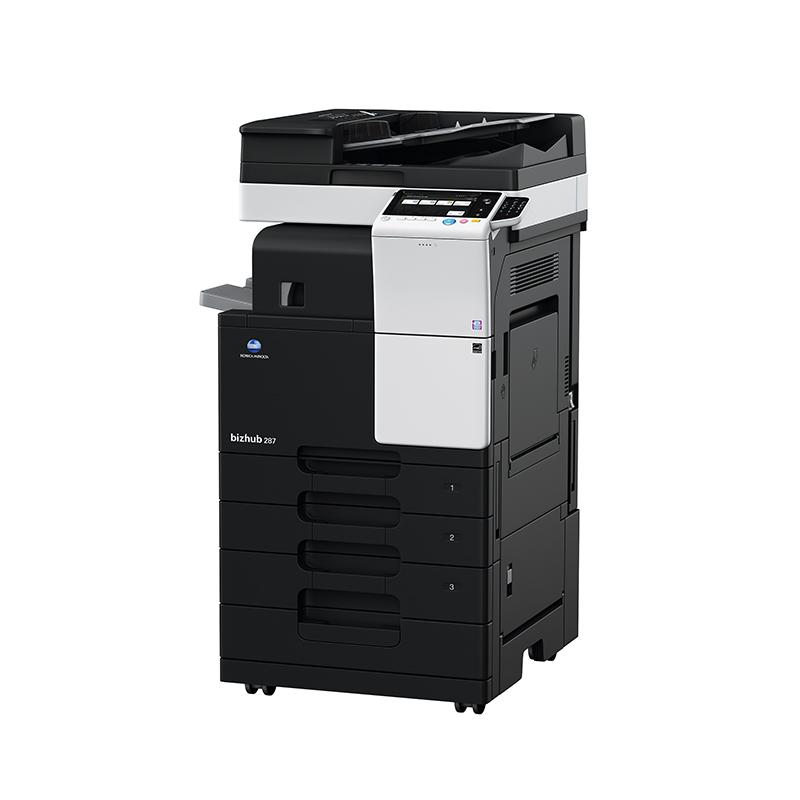 柯尼卡美能达287 A3黑白激光复印机 双面复印打印扫描柯美一体机