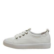 comely/康莉女鞋休闲平底单鞋百搭小白鞋系带板鞋KLS12132DA01AM9图片