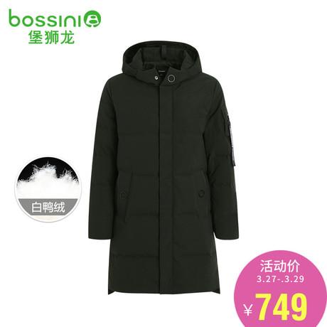 堡狮龙秋冬新款男装保暖中长款羽绒服男士冬季外套363002060商品大图