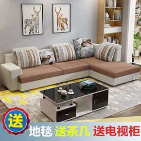 卧室单人经济型紫色沙发组合懒人简易休息组装简约睡觉个性多功能
