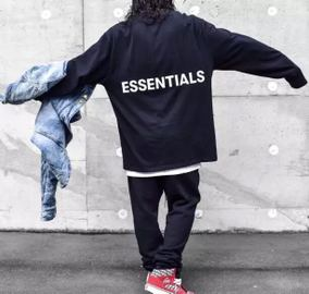 Battle BJZH Fear Of God FOG复线 Essentials  男款长袖T恤