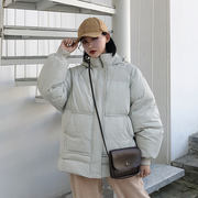 Cotton clothing oversize female short paragraph 2018 new cotton coat student ins bread service bf cotton jacket winter jacket tide