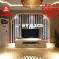 Plaster line sofa bed background wall TV wall plaster line wall continental arc arch custom custom