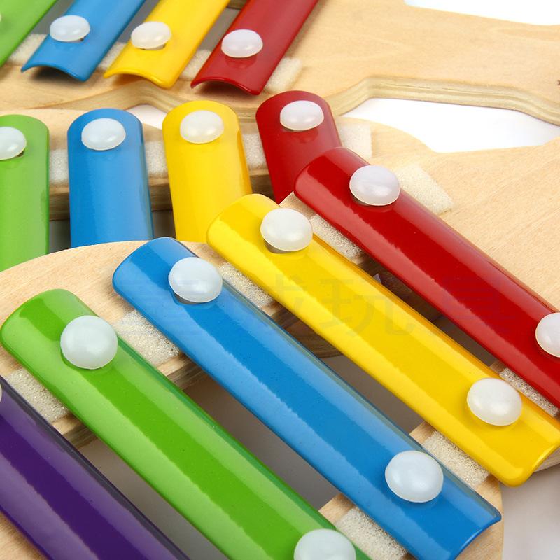 儿童专业手敲琴8八音小洋木琴打琴铝板宝宝早教音乐乐器玩具包邮