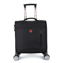 Business travel boarding boxes 16 inches 18 inches universal pulley suitcase Oxford cloth suitcase luggage suitcase men and women