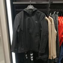 RUNW迪卡侬运动风衣女户外遮阳夹克上衣外套宽松防风防小雨跑步服