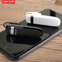 DACOM 商务型车载蓝牙耳机超长待机续航开车五级防水挂耳塞式苹果安卓华为手机通用可接听电话无线篮牙K2