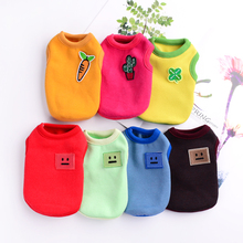1-3 months catty milk dog tea cup Puppy Cat clothes super pet Teddy Bomme Chihuahua vest spring and Autumn