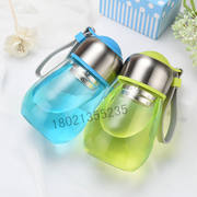 Children's Cup Student Tea Cup Men and women Water Cup Portable Cover Filter Hand Cup Flower Baby Cup Mug