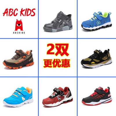 abckids童鞋 2018秋冬男童女童运动鞋宝宝鞋棉鞋品牌断码清仓童鞋