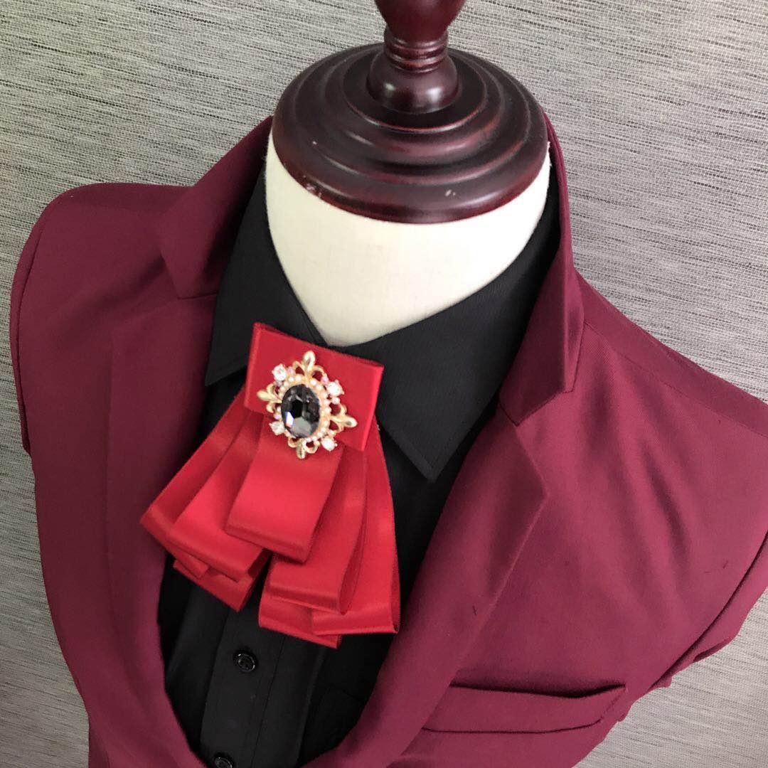 买一送一韩版潮领结新郎伴郎婚礼领花男士正装潮黑领结口袋巾套装