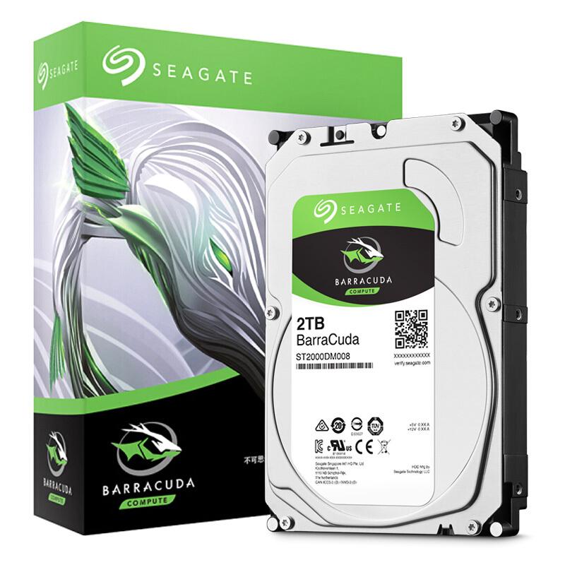 Seagate/希捷 ST2000DM008 酷鱼2T台式电脑机械硬盘 ST2000dm005