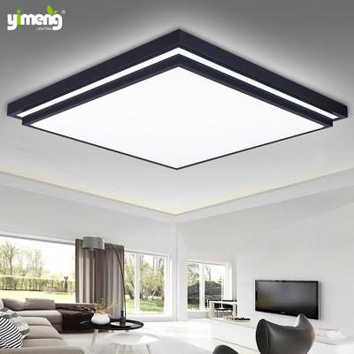 LED现代简约客厅吸顶灯具卧室书房间灯饰过道走廊厨房灯无极调光