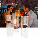 Opisyal nga tindahan sa Philippi sa Germany Pagtaas sa kandelero Creative home decoration Romantic candlestick 129014
