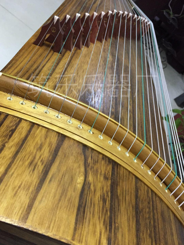 级演奏古筝 10 型专业 163 超薄款纯桐木素面古筝天然纯真标准实木