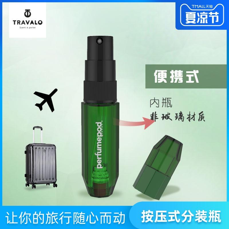 Travaloic小红书便携香水分装瓶化妆品小瓶子可充式喷雾旅行装5ml