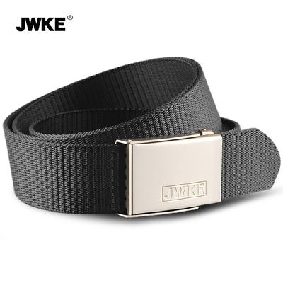 JWKE帆布腰带男士皮带 户外休闲百搭简约韩版青年学生潮流裤带女