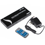 Maxtor's moments MT-HD4x2 4 in 2 out HDMI matrix HD switch splitter Remote control Audio
