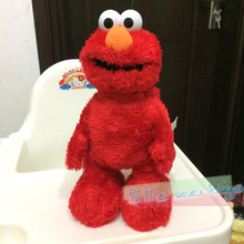 Sesame Street ELMO Emma laughs at electric dolls rolling plush dolls funny toys for birthday gifts