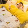 床上四件套纯棉加厚