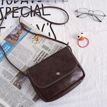 软皮小包包复古包   韩国斜跨包复古小方包迷你小挎包手机包 女包