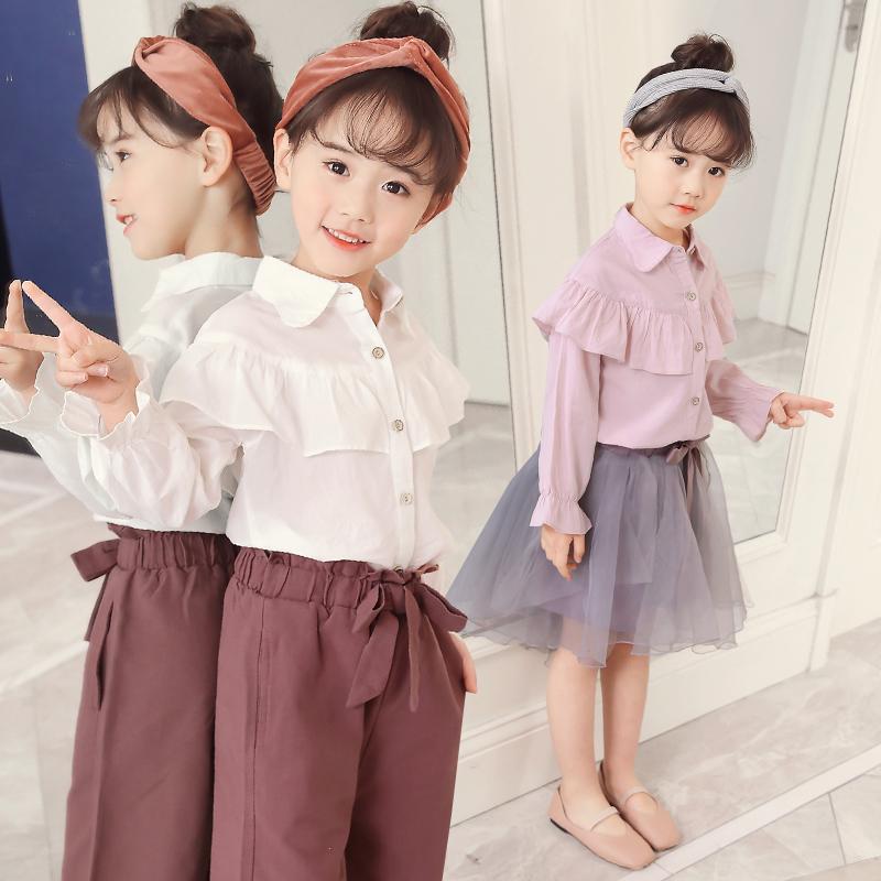 3岁女童衬衫秋装