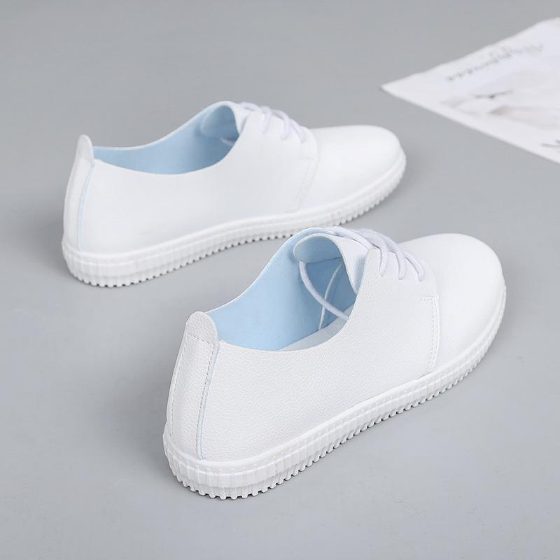 小白鞋子女春季2018新款百搭韩版透气女鞋平底鞋休闲鞋学生单鞋夏