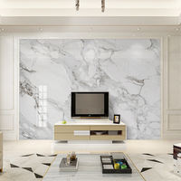 Uv board TV background wall living room jazz white 3d board simple European wall panel microcrystalline custom new