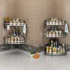 厨房置物角架